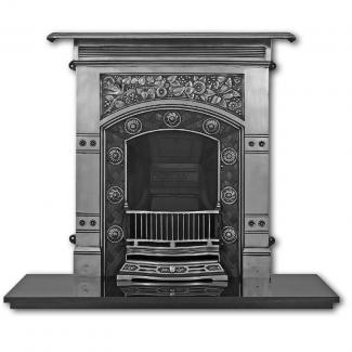 Complete Cast Iron Fireplaces