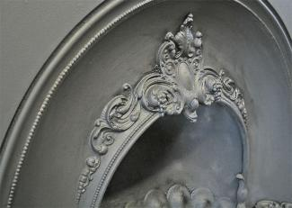 Cameo Fireplace Insert detail