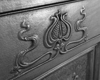 The Bella Cast Iron Combination Fireplace Frieze