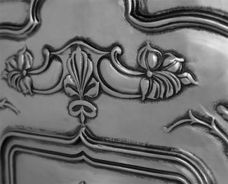 The Jasmine Cast Iron Combination Fireplace detail