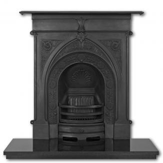 The Knaresborough  Cast Iron Combination Fireplace