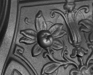 The Lambourn Cast Iron Combination Fireplace detail