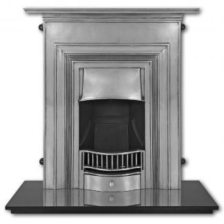 The Oxford Cast Iron Combination Fireplace full polish
