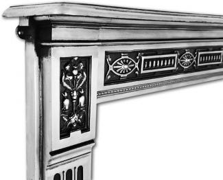 The Albert Cast Iron Fire Surround