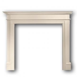 Bartello Fire Surround in Aegean Limestone