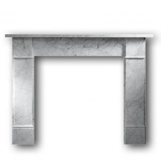 Brompton 56 Fire Surround carrara