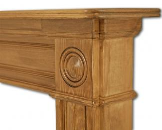 The Derry Wooden Mantel detail