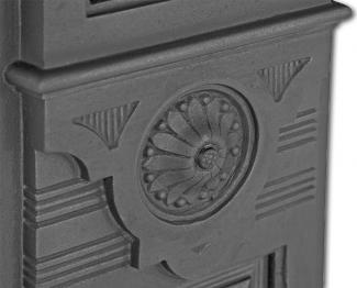 The Hampton Cast Iron Fire Surround detail