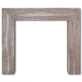 The Nevada Wooden Mantel weathered acacia