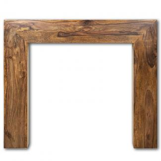 The Nevada Wooden Mantel solid sheesham