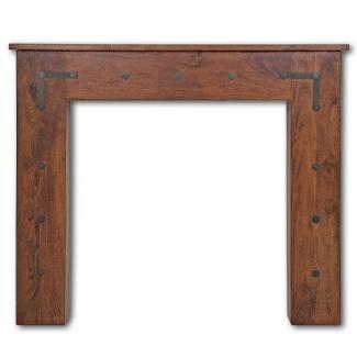 The Thakat timber mantel