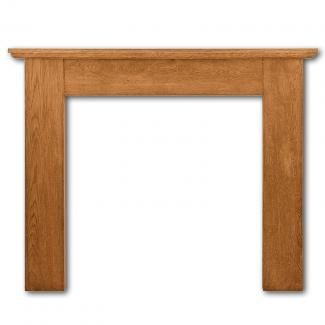 The Wexford Wooden Mantel - waxed oak