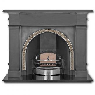 The Kensington Arched Cast Iron Fireplace Insert