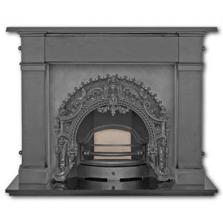 The Rococo Arched Cast Iron Fireplace Insert