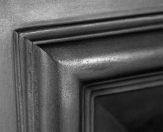The Royal Cast Iron Fireplace Insert detail