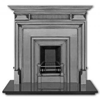 The Royal ( Narrow ) Cast Iron Fireplace Insert