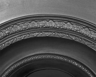 The Scotia Arched Cast Iron Fireplace Insert